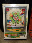 Vintage Pinball Pachinko Machine With Balls