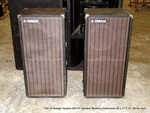 Pair of Vintage Yamaha S0112T Speaker Monitors
