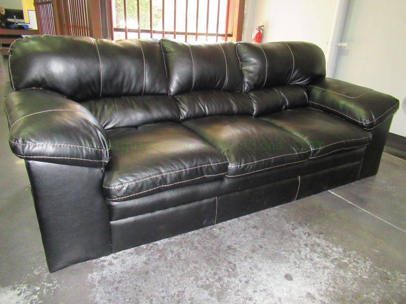 Bonded Leather Sofa Firearms Accessories Gun Store Total