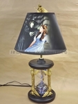 Wicked witch lamp
