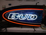 Bud -Beer Neon Sign