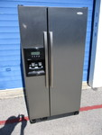 Whirlpool 22-cu ft Side By Side Refrigerator Freezer