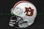 Tommy Tuberville and Pat Dye signed Auburn University Replica Helmet with COA