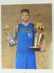 Dirk Nowitzki Dallas Mavericks signed print