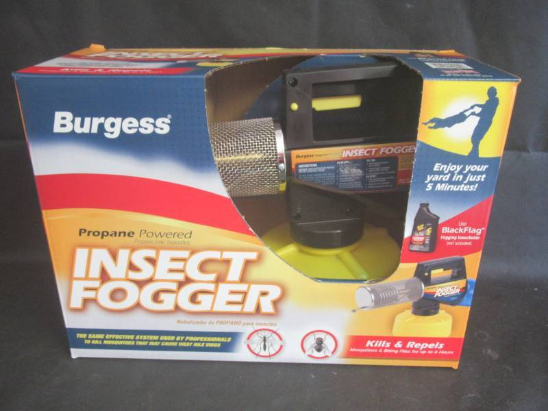 BURGESS PROPANE POWERED INSECT FOGGER,KILLS AND REPELS
