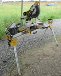 DEWALT MITER SAW AND STAND