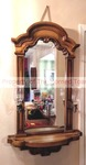 Hanging Wooden Entry Mirror