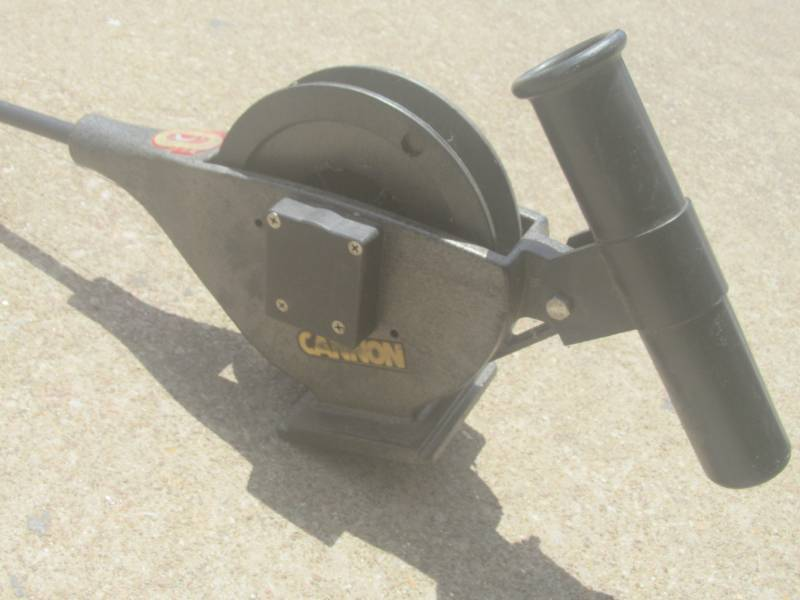 CANNON DOWNRIGGER WITH BALL WEIGHT | W L A R TOOLS GALORE