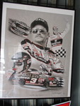 #3-Dale Earnhardt-Gone But Never Forgoten-1951-2001, Signed and Numbered Print