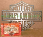 Harley Davidson Plasma cut metal sign plus