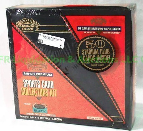 topps stadium club super premium sports card collectors kit amazing sports memorabilia auction auction spear auction spear homepage