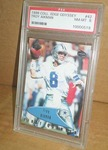COLL. EDGE ODYSSEY PSA GRADED NM-MT8 TROY AIKMAN CARD