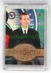 1999 HOCKEY HALL OF FAME INDUCTION WAYNE GRETZKY CARD
