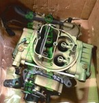 Holley 4bbl carburetor unused