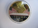 2020-Trump Dollar Size Collectors Coin