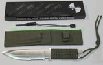 New CrossFire fixed blade knife with fire rod and sheath