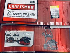Craftsman Electric Power Washer 71-99117 2050 Max PSI 1.4 Max GPM