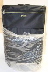 Tach 3-pc Luggage Black Brand New