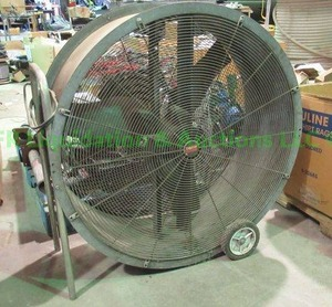 "Dayton 36"" air circulation fan model 3C991B"