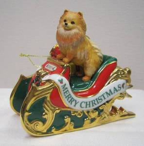Danbury Mint 2005 Pomeranian Ornament