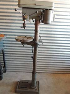 "Omaha Industrial Tools (OIT) Drill Press  heavy duty 16 speed 13"" floor standing"