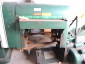 POWERMATIC HOUDAILLE Planer  model# 160 Serial # 8060121 comes with all parts, 220/230VOLT  APPROX SIZE - 60 X 48 X 60  DUE TO WEIGHT IS IN 2 MAJOR PIECES, MOTOR SEPARATE, HAS MANUALS :  WORKFORCE ROLLER
