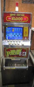 Tens or Better Draw Poker Slot Machine