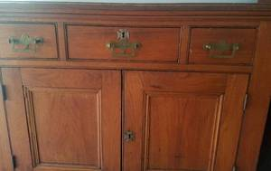 "VINTAGE CHEST WITH DRAWERS (36"" W x 18"" D x 29"" H)"