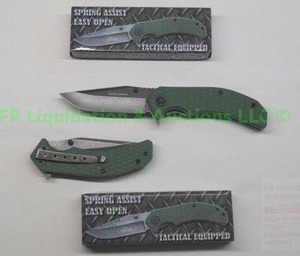 New Kentucky cutlery tactical lockblade knife, 2 total