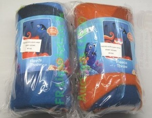 New Disney Finding Dory pleece throw, 2 total
