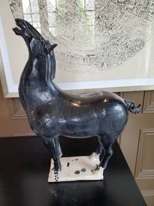 Ceramic Horse by Tozai Home