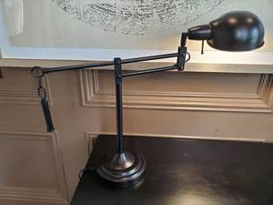 Bassett London Task Table Lamp