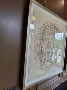 "Framed Giclee on Paper ""Mandala 2"""