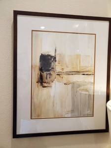 "Framed Giclee with Glass ""Harper 8"""
