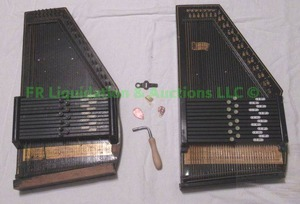 Vintage Oscar Schmidt-international Autoharps (One is in good condition)