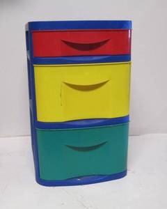 Colorful Plastic Storage Drawers