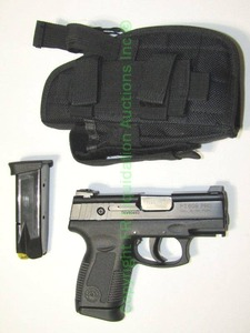 Taurus PT609 Pro compact carry with extra magazine and holster