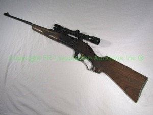 Savage arms model 99F rifle caliber .300 savage with Gibbons 4x32 nitrogen filled scope