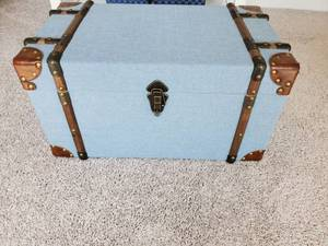 Blue Fullerton Plywood Trunk by IMAX