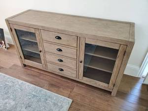 Harbor Buffet in Washed Grey Wood by Harbor House