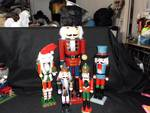 LOT OF 5 NUTCRACKERS