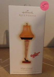 HALLMARK KEEPSAKE ORNAMENT - A CHRISTMAS STORY (WHAT A LAMP)