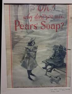 1899 Pears Soap advertisement