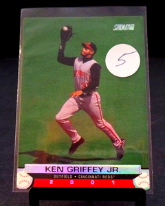 2000 STADIUM CLUB KEN GRIFFEY JR CARD #125 - NM