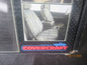 NEW IN BOX COVERCRAFT SEATSAVER  GREY   SS3405PCGY