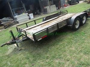 Dual axle trailer 16ft, no title