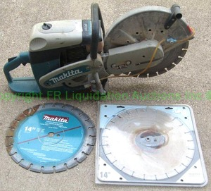 Makita concrete/cut off saw gas powered