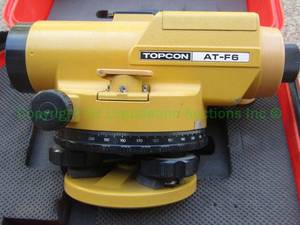 TopCon AT-F6 surveyors auto-level in carry case