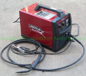 Lincoln Electric easy MIG 140 series MIG welder