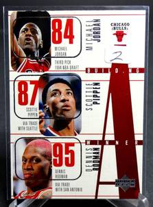 Michael Jordan Chicago Bulls: Upper Deck Building A Winner 1996/97 #139 NRMT